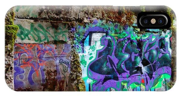 Graffiti Illusion IPhone Case