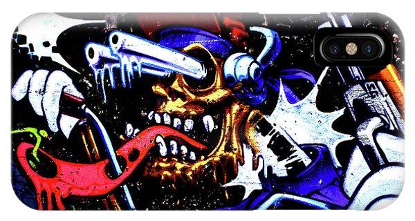 Graffiti_05 IPhone Case