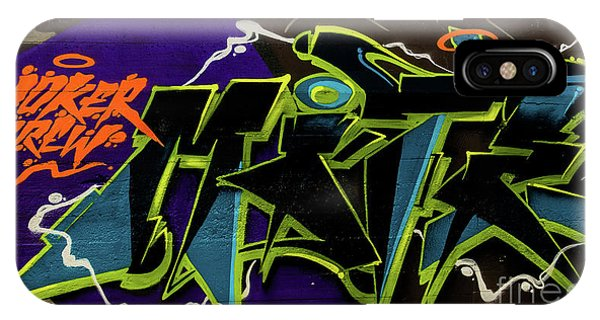 Graffiti_18 IPhone Case