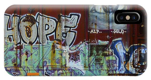 Grafitti Art Riding The Rails 6 IPhone Case
