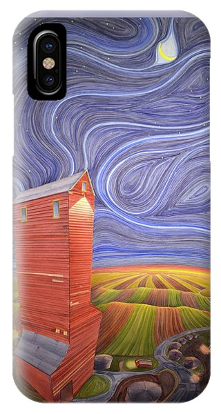 Grain Tower IIi IPhone Case