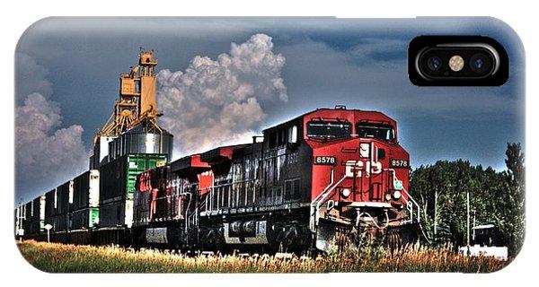 Grain Train IPhone Case