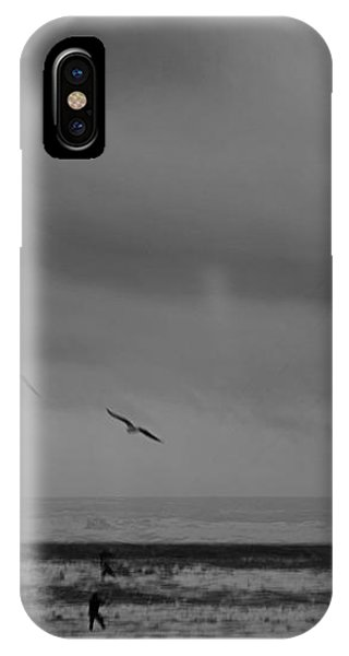 Grainy Wind Surf IPhone Case