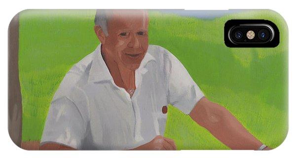 Grampa Wiegand IPhone Case