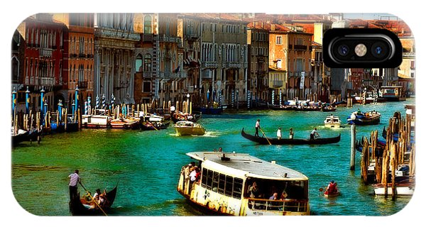Grand Canal Daytime IPhone Case