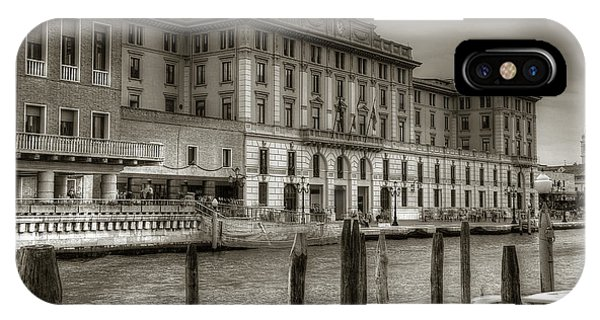 IPhone Case featuring the photograph Grand Canal by Michael Kirk