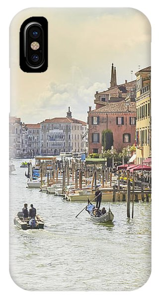 Grand Canal - The Most Famous Canal In Venice IPhone Case