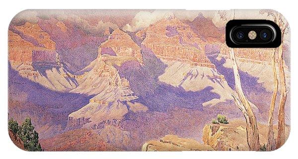 Barren iPhone Case - Grand Canyon, 1927  by Gunnar Widforss