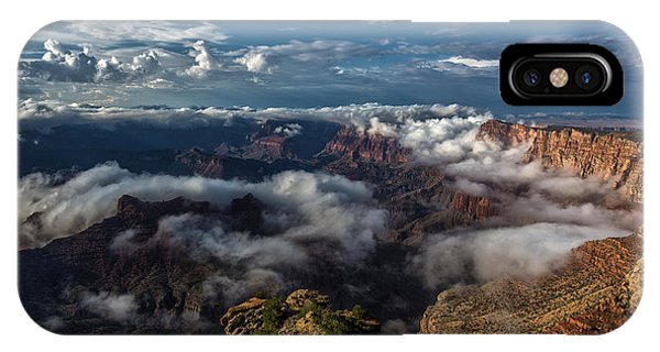 Grand Canyon Fog IPhone Case
