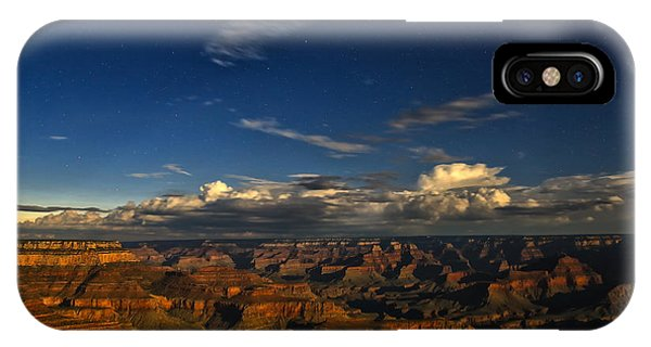 Grand Canyon Moonlight IPhone Case