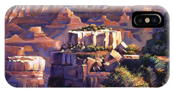 Grand Canyon iPhone Case - Grand Canyon Morning by David Lloyd Glover