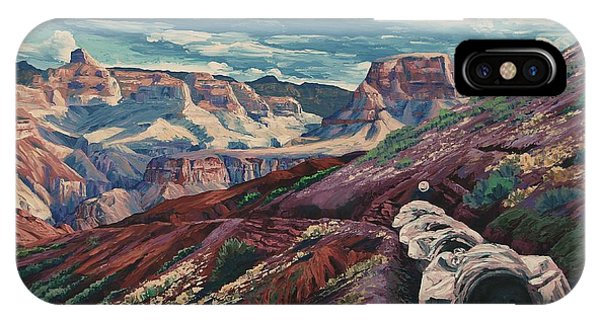 Grand Canyon Mule Skinners IPhone Case