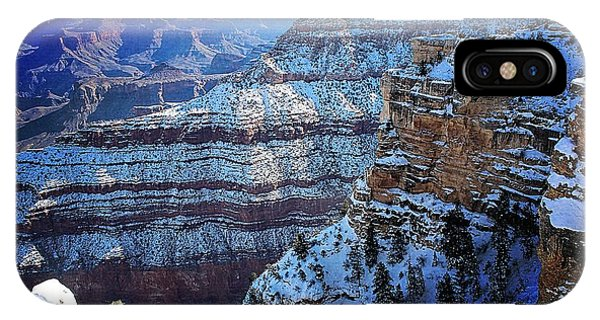 Grand Canyon National Park In Winter IPhone Case