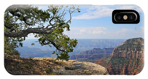 Grand Canyon North Rim Craggy Cliffs IPhone Case
