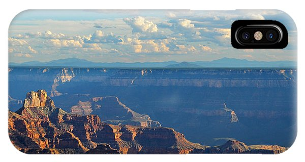 Grand Canyon North Rim Sunset San Francisco Peaks IPhone Case