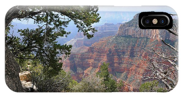 Grand Canyon North Rim - Through The Trees IPhone Case