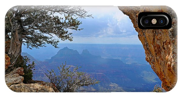 Grand Canyon North Rim Window In The Rock IPhone Case