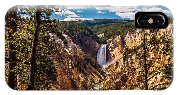 Yellowstone National Park iPhone Case - Grand Canyon Of Yellowstone by Scott Law