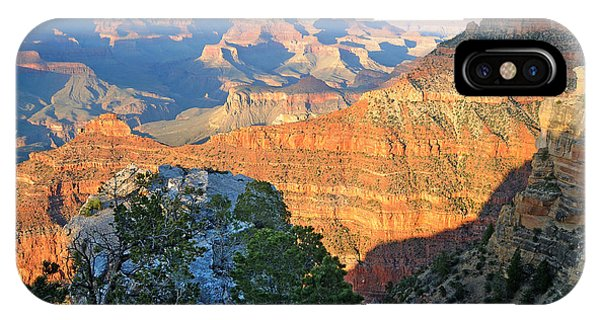 Grand Canyon South Rim At Sunset IPhone Case