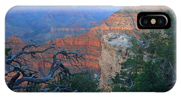 Grand Canyon South Rim - Red Hues At Sunset IPhone Case
