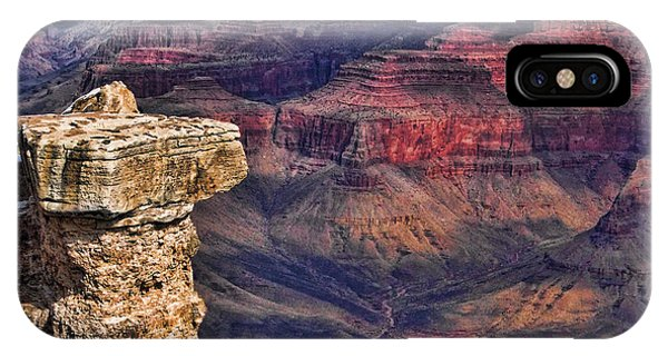 Grand Canyon Stacked Rock IPhone Case