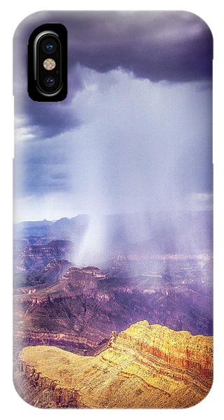 Grand Canyon Summer Storm IPhone Case