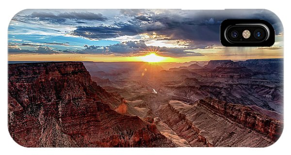 Grand Canyon Sunburst IPhone Case