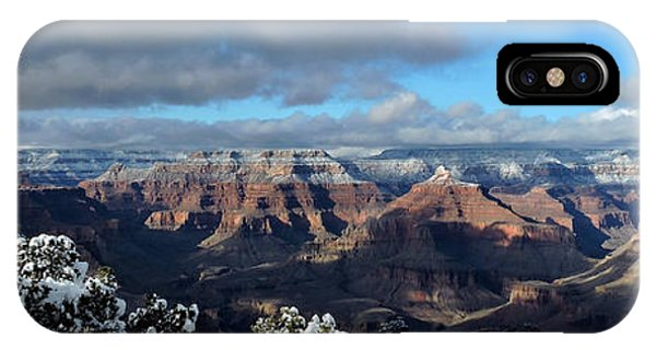 Grand Canyon Winter Vista IPhone Case