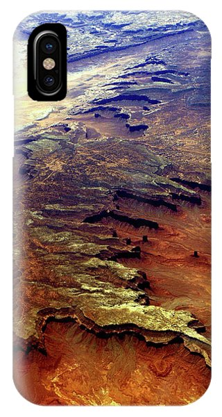 Grand Canyon01 From 6mi Up IPhone Case