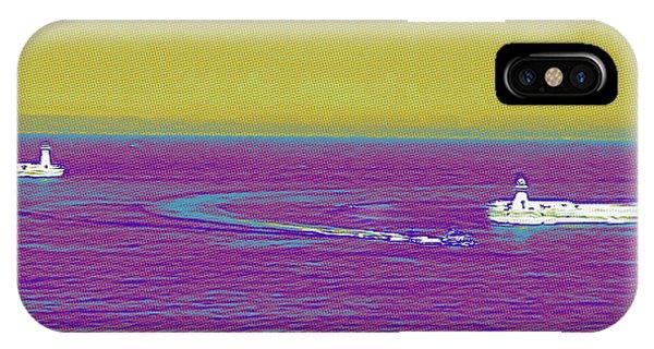 Purple Sea IPhone Case