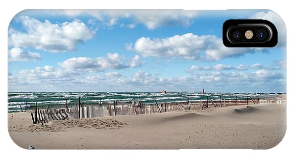 Michelle iPhone Case - Grand Haven State Park by Michelle Calkins