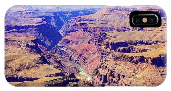 Grand Haze Canyon IPhone Case