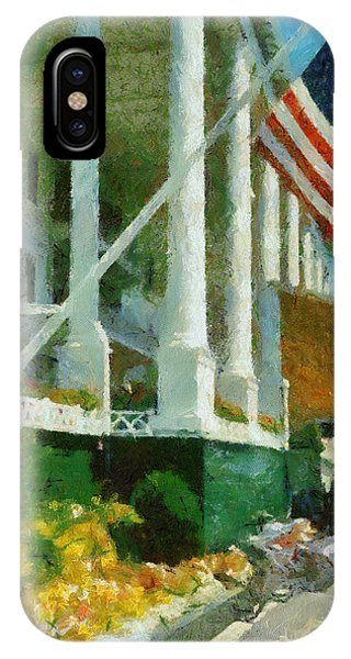 Grand Hotel Mackinac Island IPhone Case