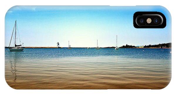 Grand Marais Harbor IPhone Case