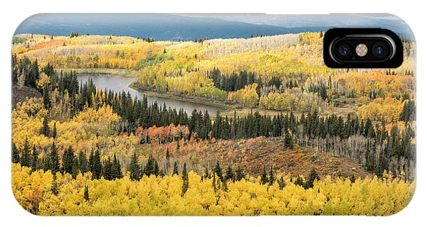 IPhone Case featuring the photograph Grand Mesa View by Denise Bush