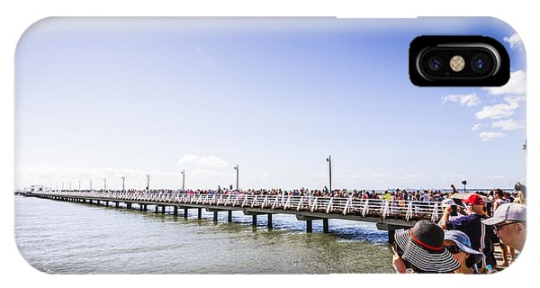 Qld iPhone Case - Grand Opening Event. Shorncliffe Pier 2016 by Jorgo Photography - Wall Art Gallery