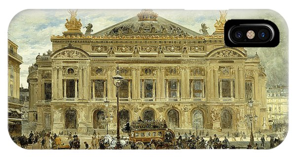 Avenue iPhone Case - Grand Opera House, Paris by Frank Myers Boggs