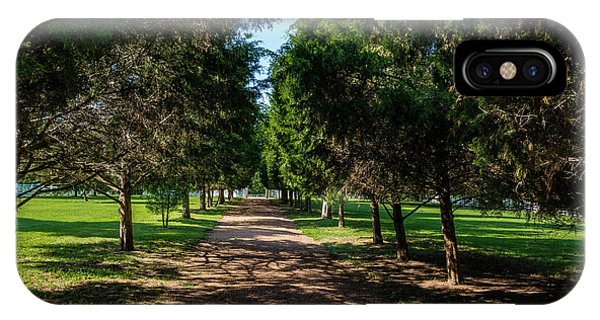 IPhone Case featuring the photograph Grand Pathway - The Hermitage by James L Bartlett