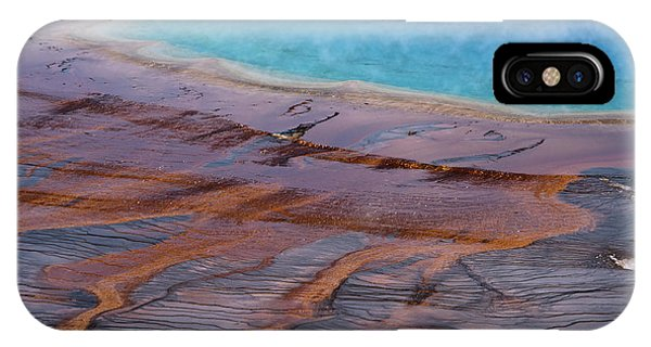 Grand Prismatic Spring Detail IPhone Case