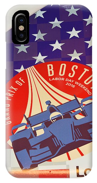 Grand Prix Of Boston IPhone Case