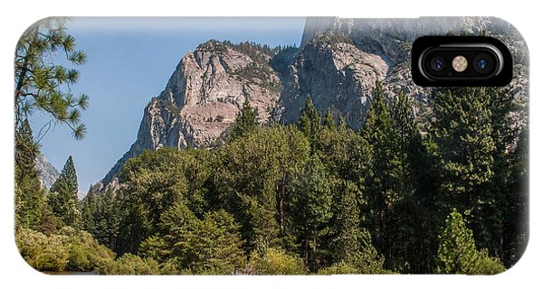 Grand Sentinel Zumalt Meadow Kings Canyon National Park IPhone Case