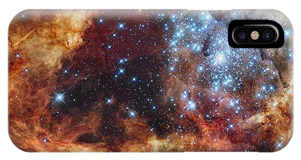Grand Star Forming - A  Stellar Nursery IPhone Case