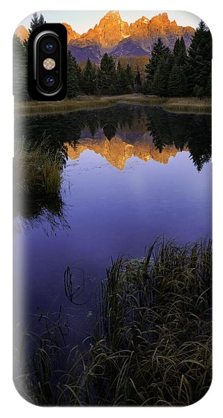 Grand Teton Morning IPhone Case