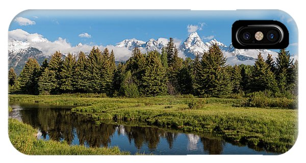 Rocky Mountain Np iPhone Case - Grand Teton Reflection by Brian Harig