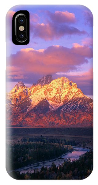Grand Teton Sunrise IPhone Case