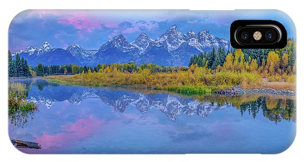 Grand Teton Sunrise Panoramic IPhone Case