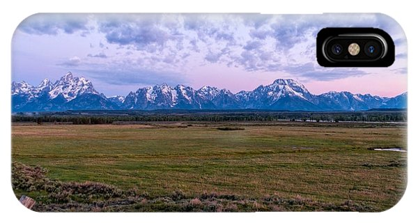 Rocky Mountain Np iPhone Case - Grand Tetons Before Sunrise 2 by Brian Harig