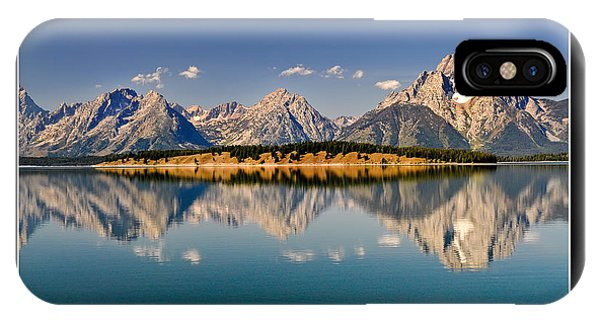 Grand Tetons - Believe IPhone Case