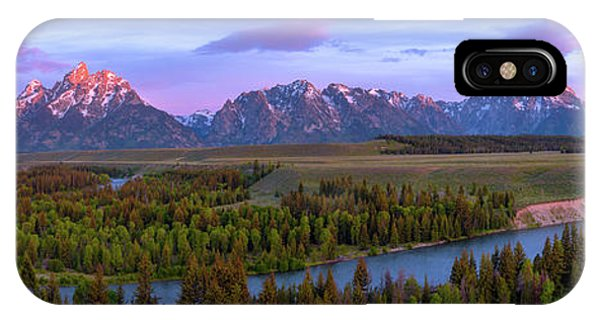 Teton iPhone Case - Grand Tetons by Chad Dutson