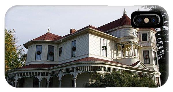 Grand Victorian Mansion  IPhone Case